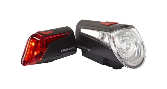 Trelock LS 450/320 Beleuchtungsset schwarz